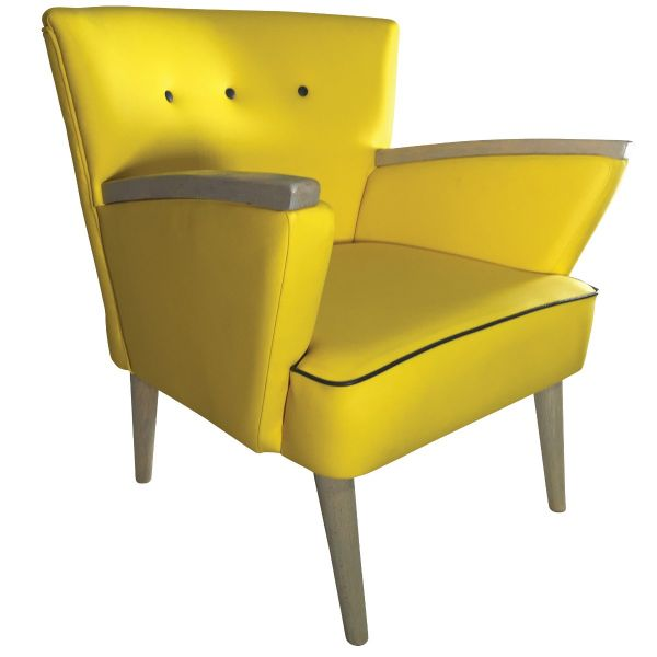 Kerry Float Button Back Armchair