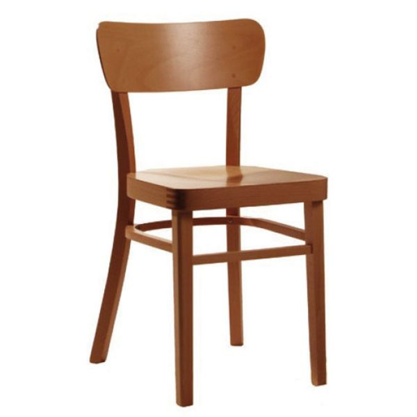 Liberty Solid Seat Side Chair (Walnut)