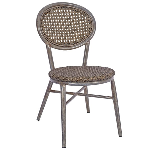 Lens Side Chair (Grey)