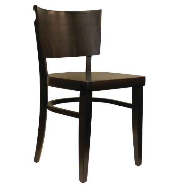 Lisa Solid Side Chair (Walnut)