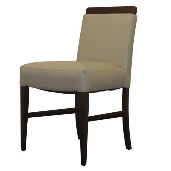 London Wood Top Side Chair