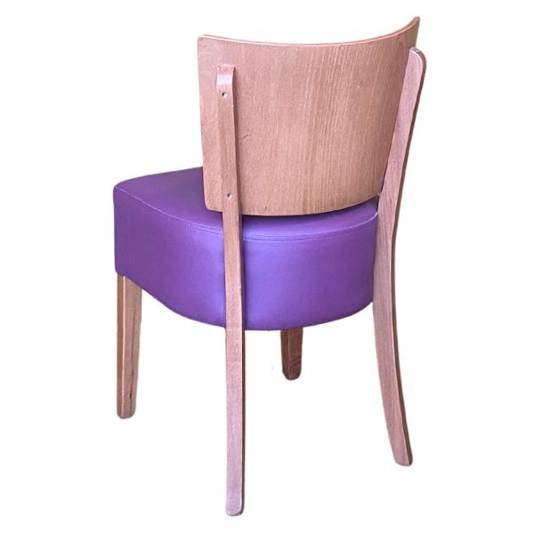 Memphis Solid Back Side Chair