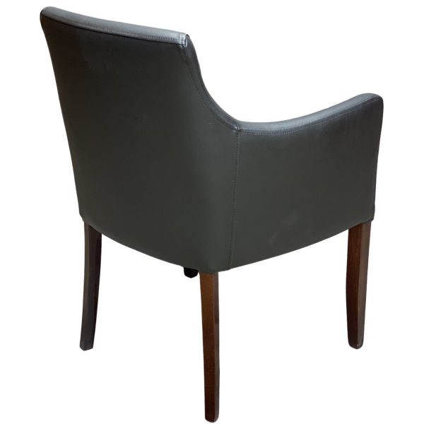 Nina Carver Chair (Vena Black)