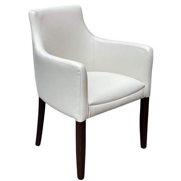 Nina Carver Chair (Vena Ivory)