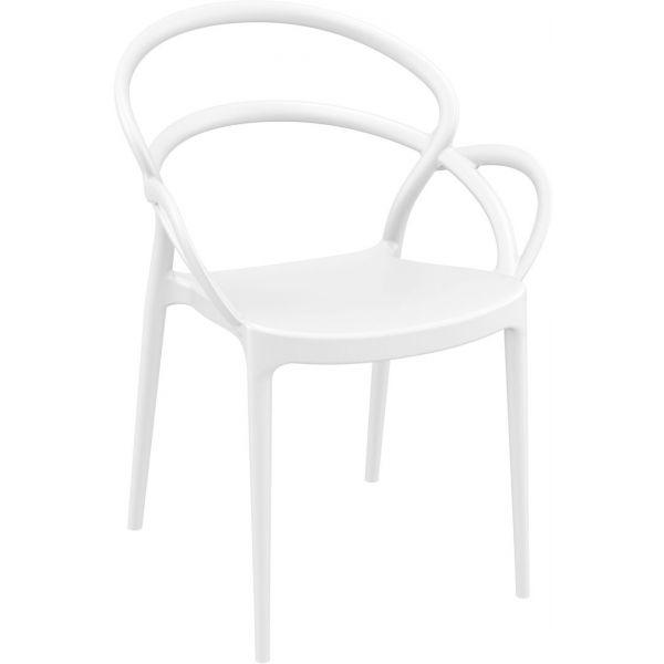 Mila Armchair (White)
