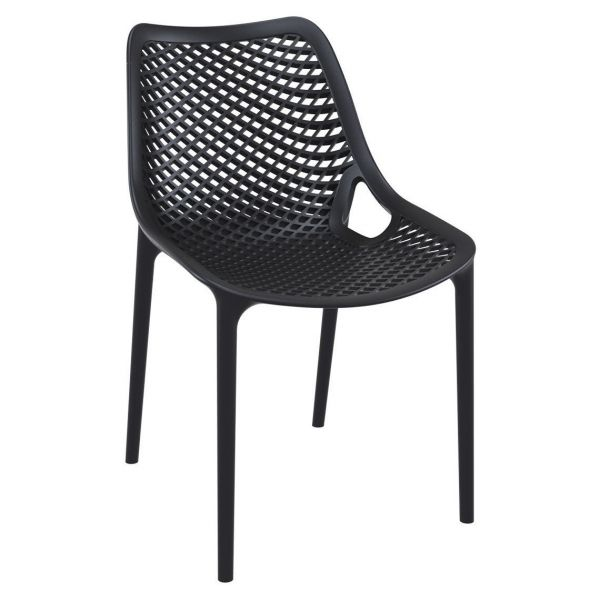 Air Side Chair (Black)