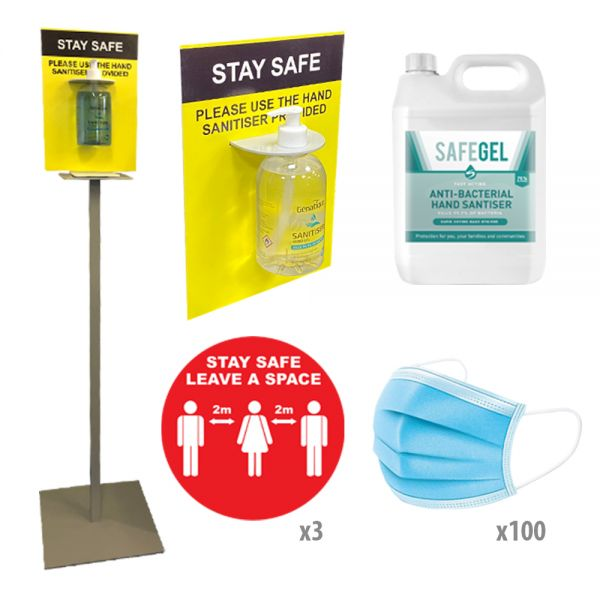 PPE Sanitiser Essentials Starter Pack