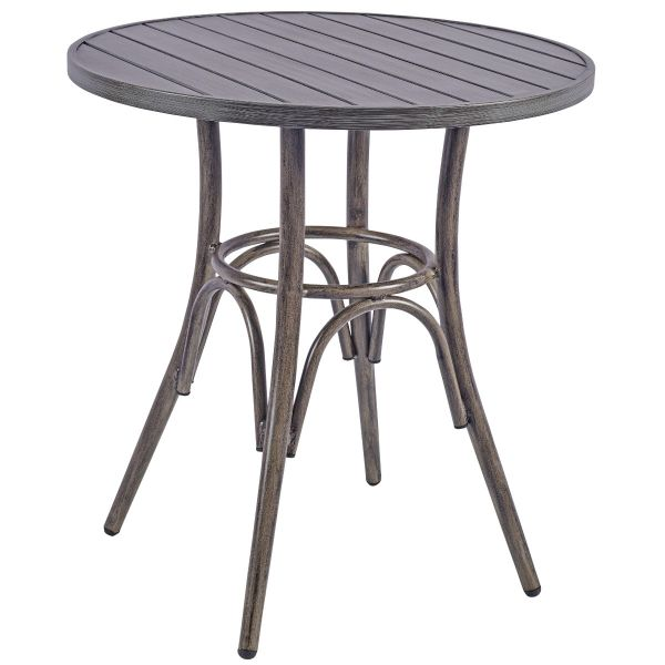 Prague Round Dining Table (Grey)