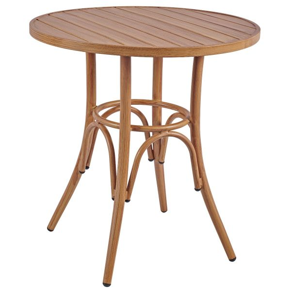 Prague Round Dining Table (Natural)