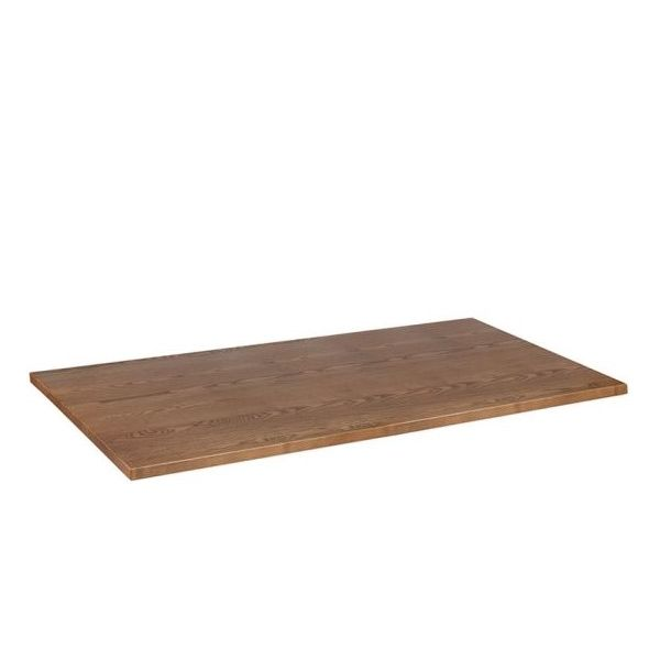 Rectangle Solid Ash Table Top - 1200mm x 700mm (Oak)