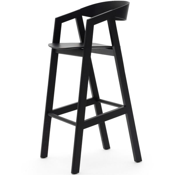 Simple Solid High Chair