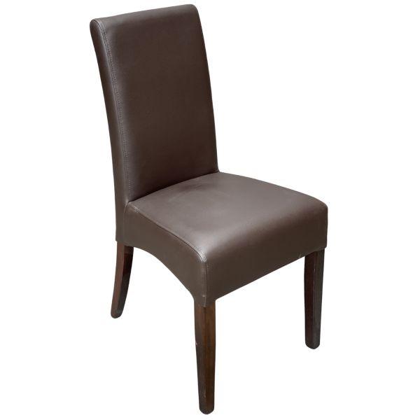 Valencia Side Chair (Vena Brown)