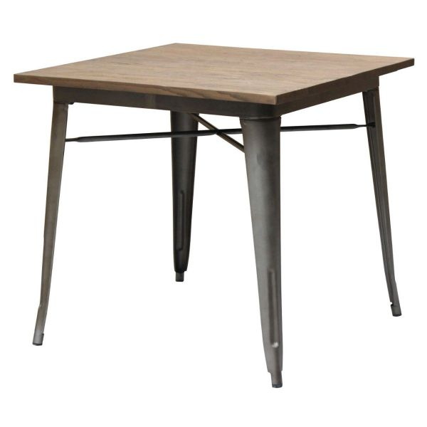 Bistro Steel Dining Table 80 Plus