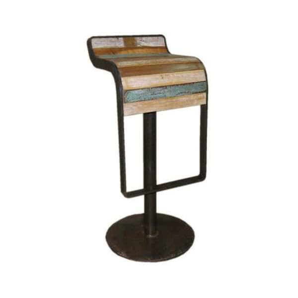 Industrial High Stool 1