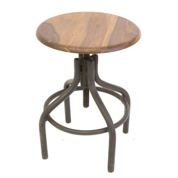 Industrial Low Stool 1