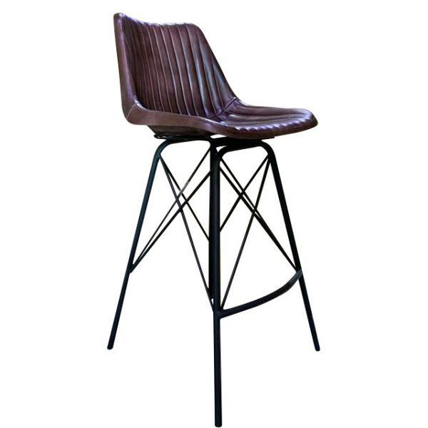 Patriot Rib High Chair (Brown)