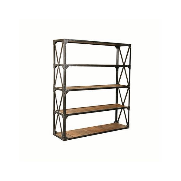 Industrial Four Shelf Wide Rack