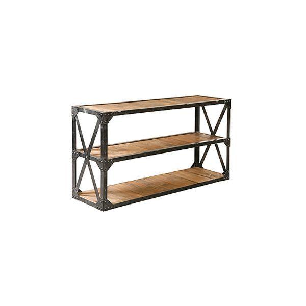 Industrial Three Shelf Wide Rack
