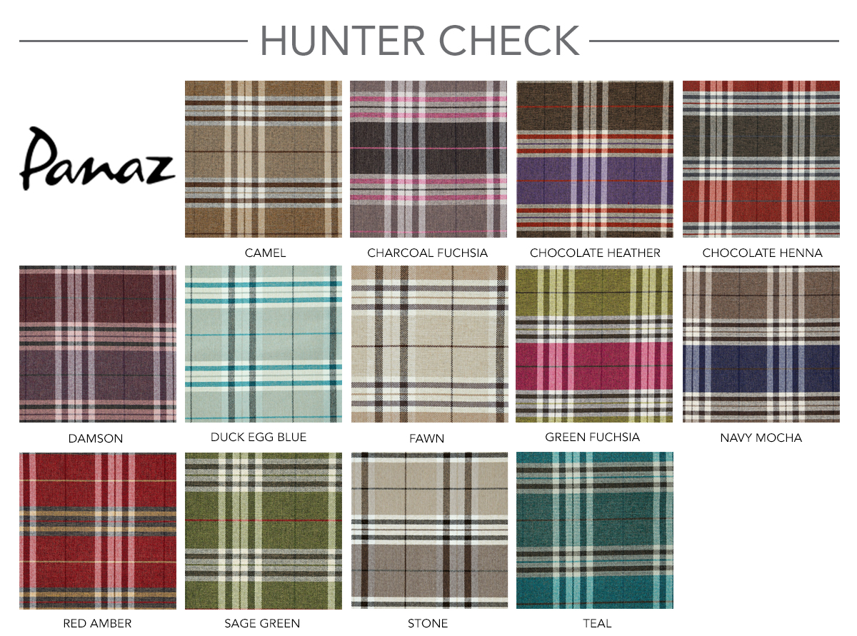 Contract Furniture Group Traditional Pattern Hunter Check