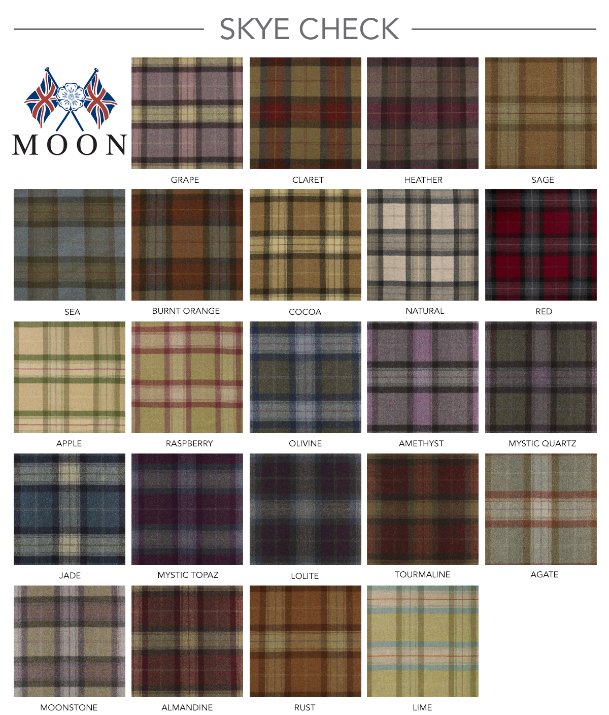 Contract Furniture Group Moon Check Wool