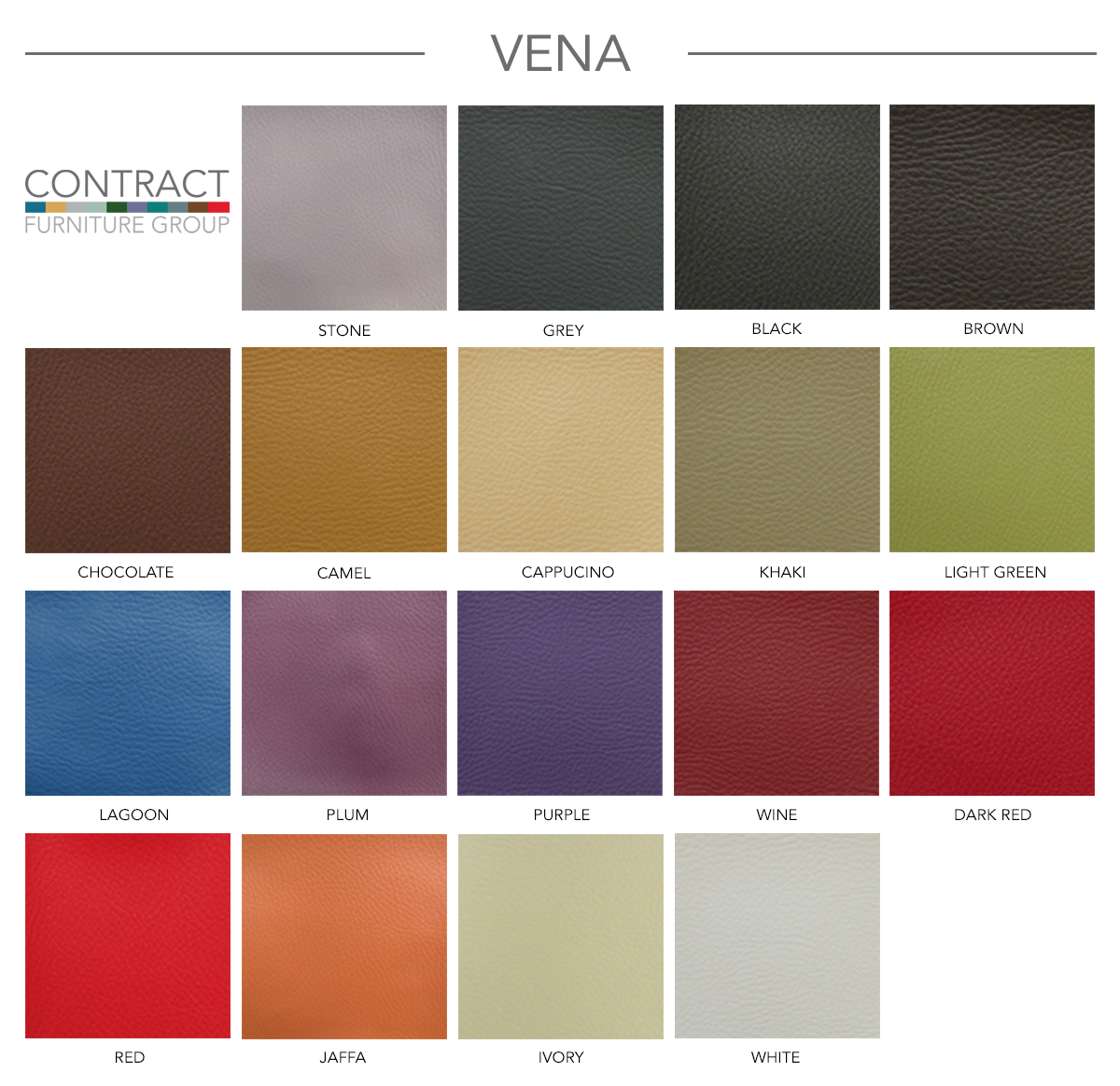 Contract Furniture Group Vena Faux Leather